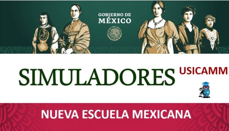 Simuladores de la Nueva Escuela Mexicana