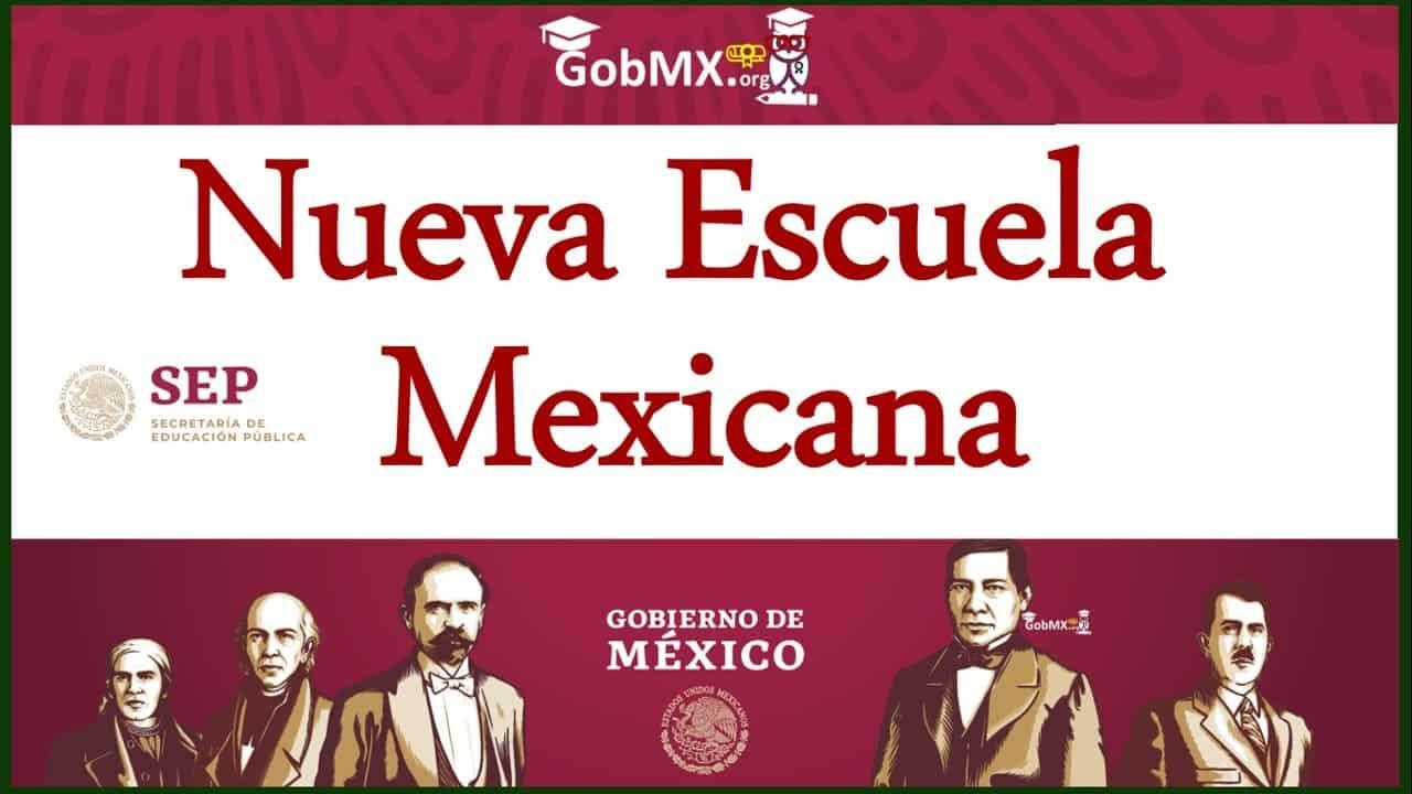 nueva escuela mexicana logo