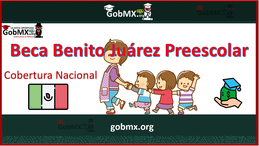 Beca Benito Juárez Preescolar