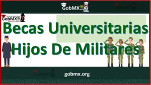 Becas Universitarias para Hijos de Militares