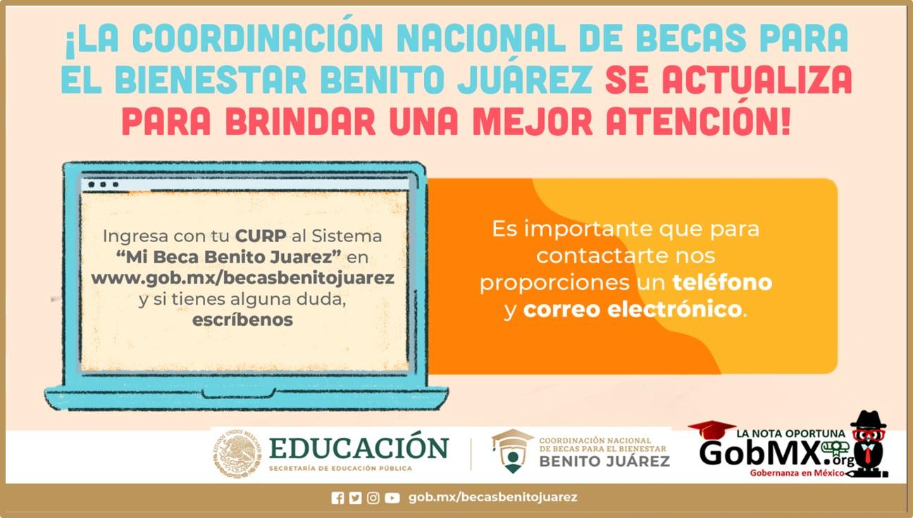 Sistema Mi Becas Benito Juárez 2021-2022