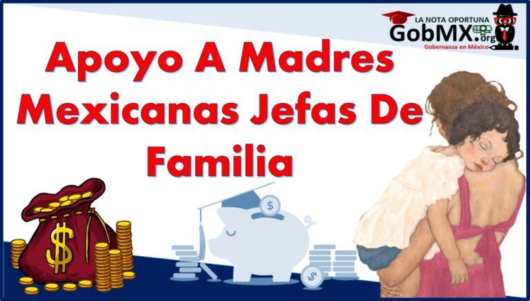 Apoyo a Madres mexicanas Jefas de Familia para Fortalecer su Desarrollo Profesional 2021-2022