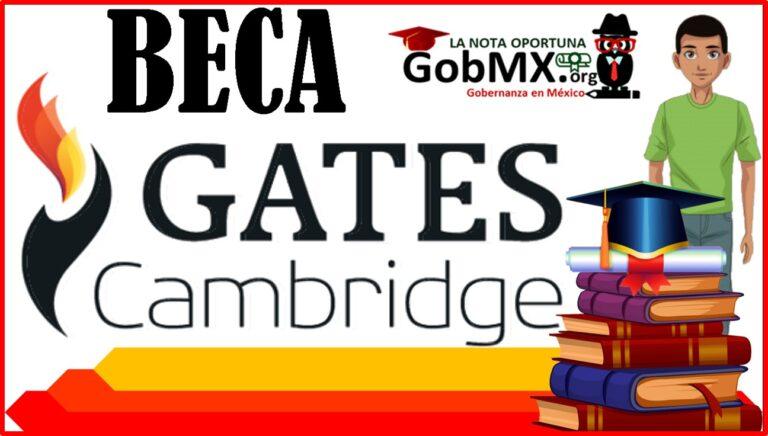 Beca Gates Cambridge 2021