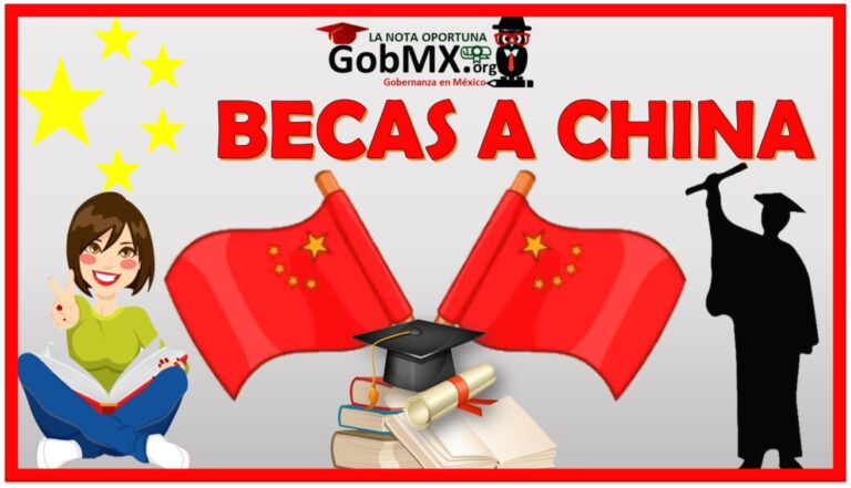 Becas a China