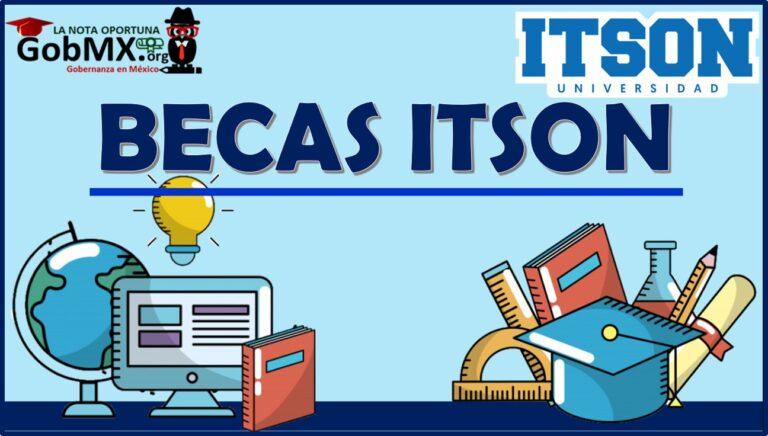Becas ITSON 2021-2022