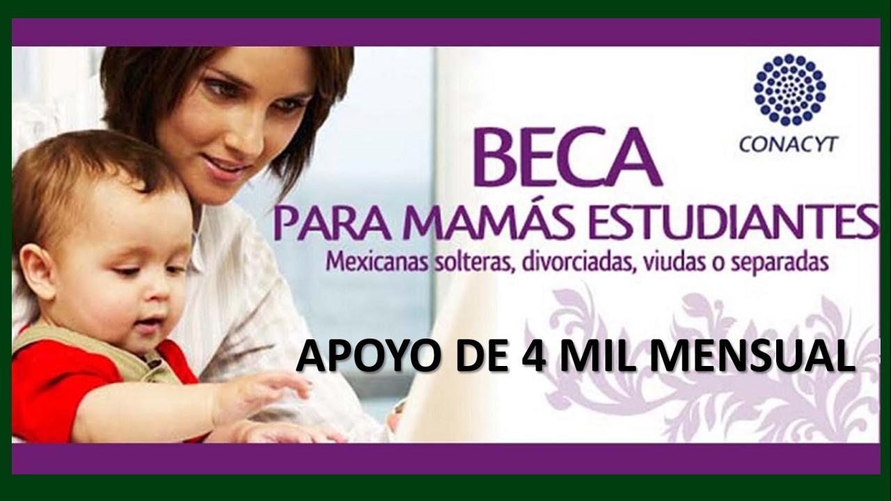 becas para madres solteras estudiantes