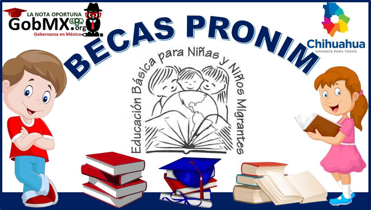 Becas Pronim 2021-2022