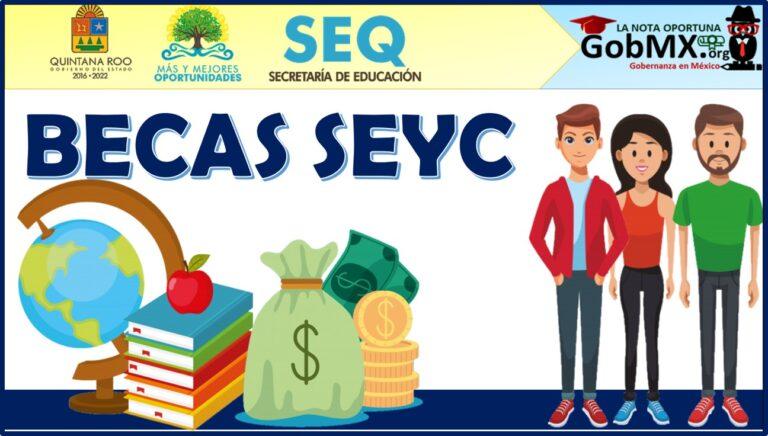 Becas SEYC 2021-2022