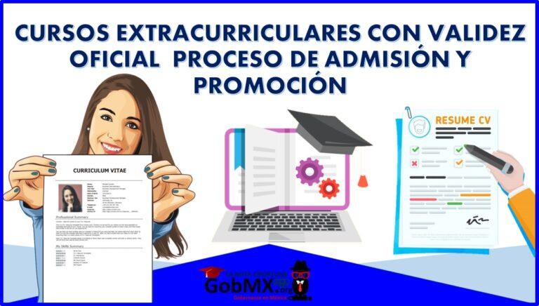 Cursos Extracurriculares con validez oficial – Proceso de Admisión y Promoción 2021