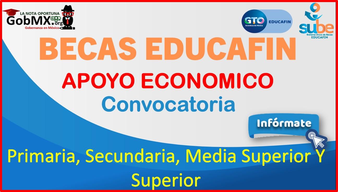 Becas Educafin 2021-2022