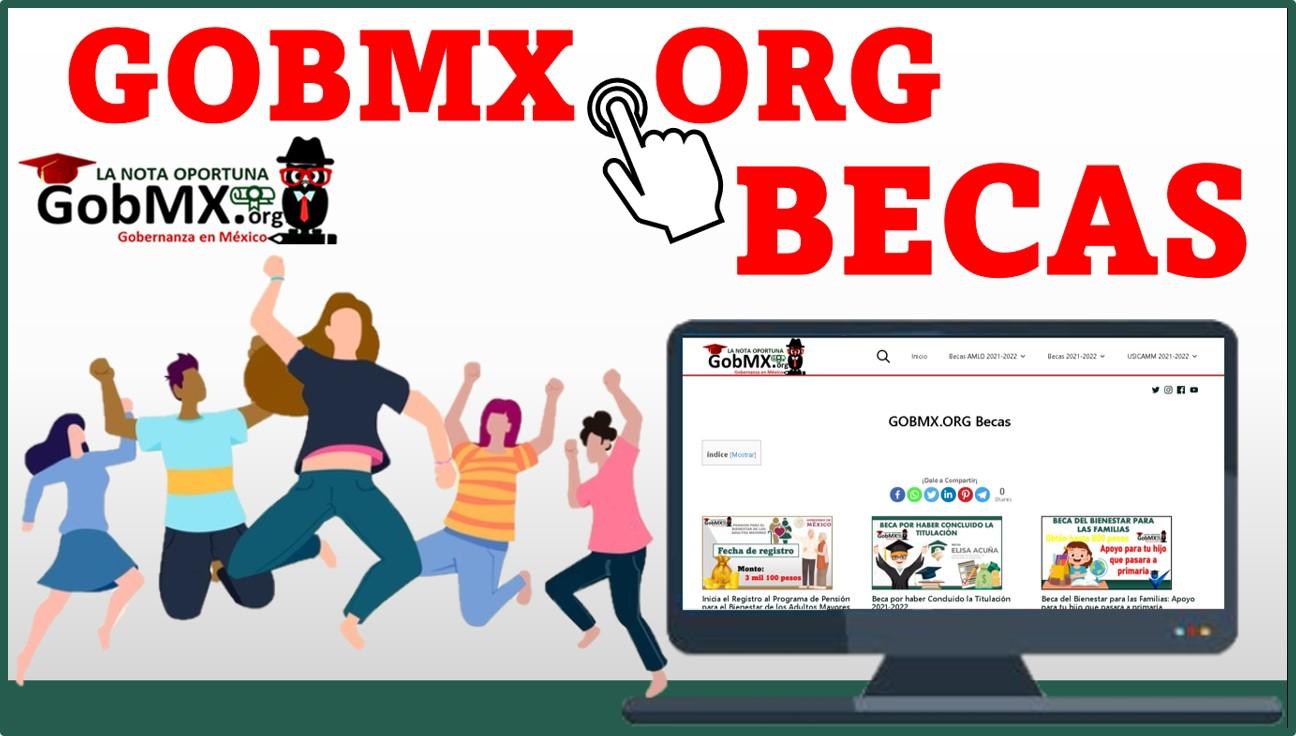 GOBMX.ORG Becas