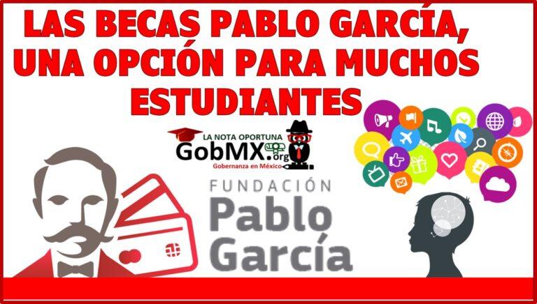 Las becas Pablo García, una opción para muchos estudiantes