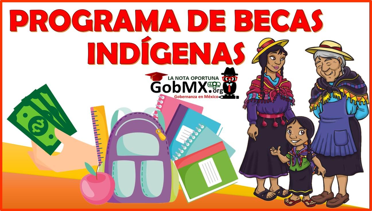 Programa de Becas Indígenas 2021-2022