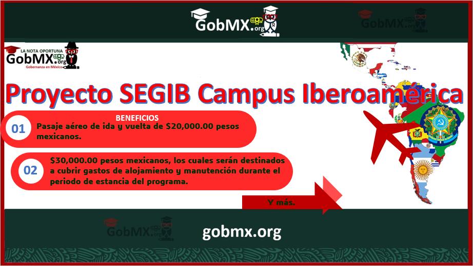 proyecto SEGIB Campus Iberoamérica