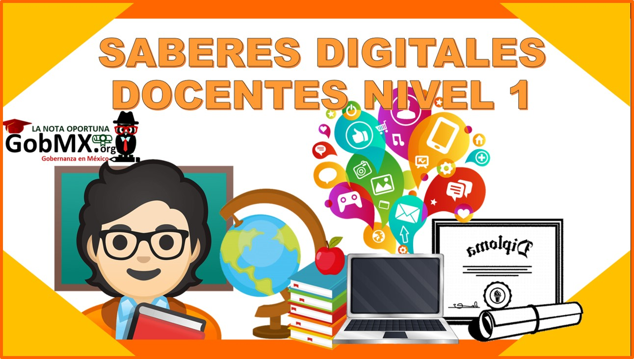 Saberes digitales docentes nivel 1